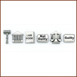 STOCK LAW THEME PUSH PINS