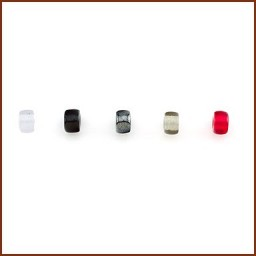 COLORED GLASS ROLLER BEAD SET 1