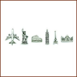 TRAVEL THEME MAGNETS