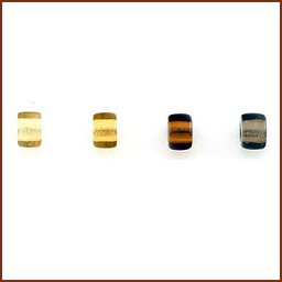 COLORED GLASS ROLLER BEAD SET 3