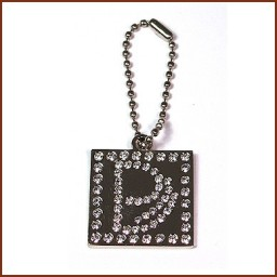 ACCESSORY TAG WITH CRYSTAL