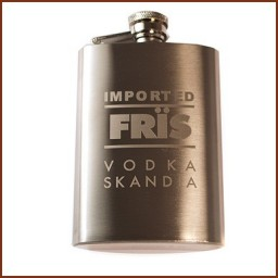4 OZ. FLASK WITH LASER ENGRAVING