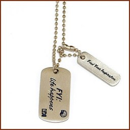 DOG TAG W/ MINI TAG
