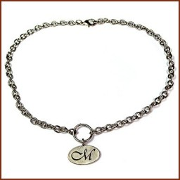 CHARM NECKLACE OVAL CHARM