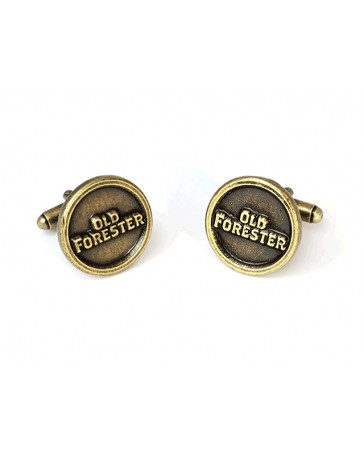 ANTIQUE BRASS PLATED CUFF LINKS