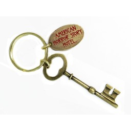 ANTIQUE KEY KEY CHAIN W/TAG