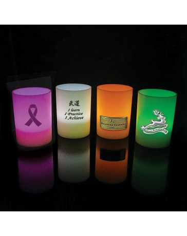LED Votive Candle w/Imprint