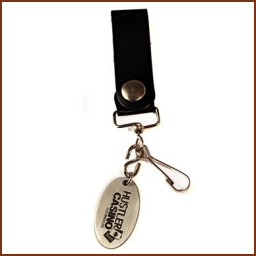 LEATHER STRAP KEY FOB